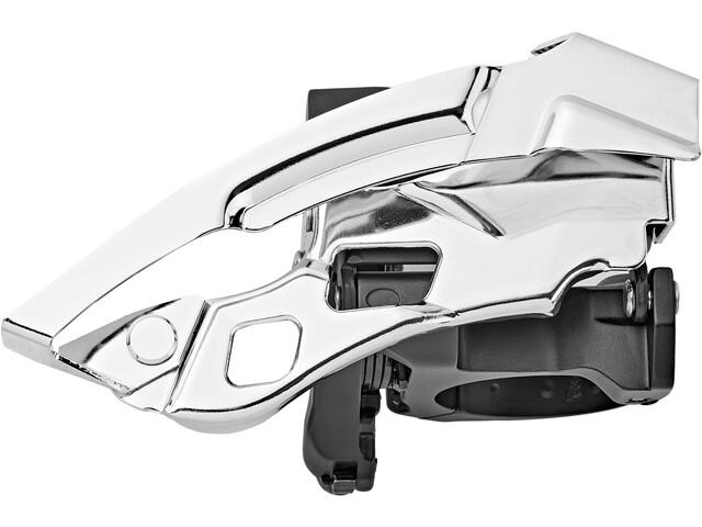 Shimano Deore XT Trekking FD-T8000 Etuvaihtaja kiinnitysrengas syvä 3x10 Down Swing, black